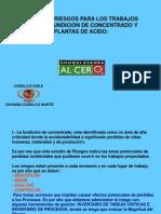 Mapeo de Riesgos Fundicion