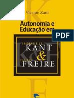 Autonomia e Educação em Immanuel Kant & Paulo Freire