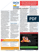 Pharmacy Daily for Thu 15 Nov 2012 - Antibiotic confusion, Questions over laser, Swisse winnings, Dental health and much more...