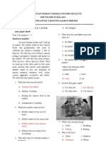 English Worksheetq
