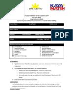 Jesse Robredo Youth Camp-Application