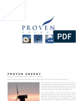 Proven Energy Wind Turbines
