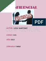 Confidencial - Leidy Yuranni Martinez Otalora