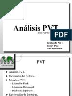 Analisis PVT Para Petroleo Negro