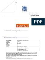 ICICI RetailBanking TestCases