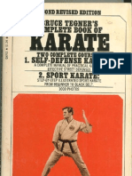 Bruce Tegner's Complete Book of Karate - 1966