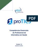 Competencias Informatica Saude SBIS ProTICS v 1 0