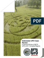 Indonesian UFO Case Review 2011