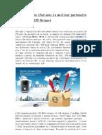 Laissez Mouche iPad Avec Le Meilleur Partenaire ZTE MF91 4G LTE Hotspot