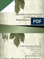 Green Practices Regenerative Cities-2011