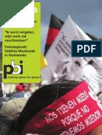 Peaces 6, najaar 2012