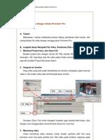 Tutorial Mengolah Video Dengan Adobe Premiere Pro