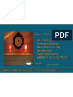 Verschicke Weihnachtsenergie