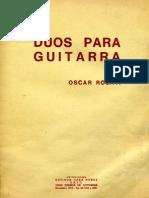 Oscar Rosati - Duos Para Guitarra ( ORIGINAL )