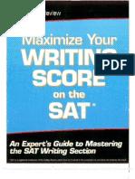 Maximize Your Writing Score