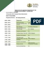 Programme Mapoko Seminar Bloemfontein