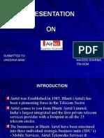 Presentation on airtel