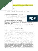 2012 11 14 Escrito Solicitando Suspension Ejecucion Desahucio.doc