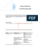 Sanger Troubleshooting Guide v1