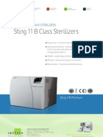 Bench Top Steam Sterilizers - Sting 11B Class Sterilizers PDF