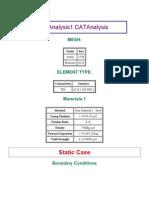 Cad Analysis