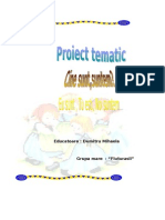 Proiect Tematic Eu Tu Noi