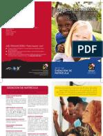 Exención de Matrícula para Beneficiarios  de cuidados en  Hogares adoptivos