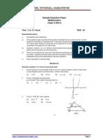 10th Mathematics Sa 1