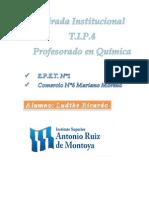 Mirada Institucional Caratula