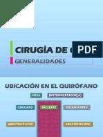 CLASE Nº3-GENERALIDADES DE CIRUGÍA DE OÍDO