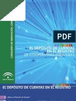 Deposito de Cuentas en El Registro de Cooperativas Andaluzas