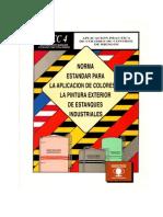 Norma Estandar Para La Aplicacion de Colores en La Pintura Exterior de Estanques Industriales
