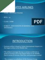 81169051 Emirates Airlines Ppt