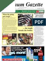 Platinum Gazette 16 November 2012
