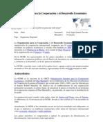 Organización para la Cooperación y el Desarrollo Económico