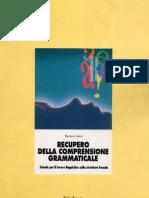 Erickson - Recupero Della Comprensione Grammaticale Libro PDF