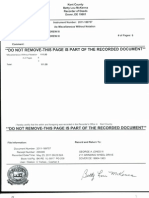 Recorded Affidavit of Actual and Constructive Notice-Notarized-Authenticated