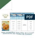 Calendário das sessões na BE (FRAGOSELA) - Dia Nacional do Mar