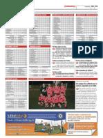 Clasificaciones de las ligas de Futbolcity en Superdeporte. 14 de noviembre 2012