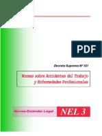 decreto supremo Nº 101  normas sobre accidentes y enfermedades profesionales