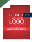 Secrets for a Good Logo - 8.5 x 11
