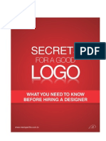 Secrets for a Good Logo - 8.5 x 11