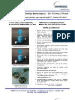 Mediidores de Agua Potablle Domiiciilliiariios – DN 13 mm y 19 mm