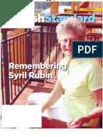 Jewish Standard 11/16/2012