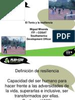 El Tenis y La Resiliencia