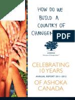 Ashoka Canada Annual Report 2011-12