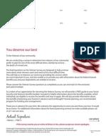 Veterans Direct Mail Survey 2012 - Lead Generation
