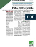 Il Senatore Antonio d'Alì in accordo con le regioni adriatiche