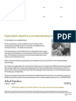 Direct Mail Family Survey - Lead Generation