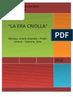 La Era Criolla